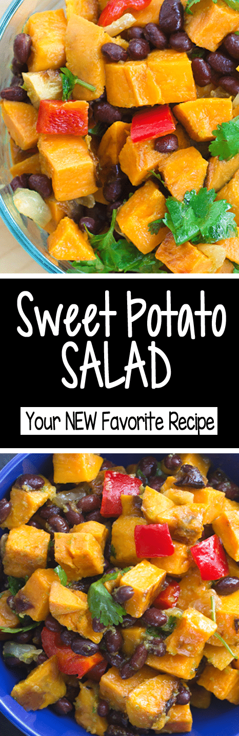 The BEST Sweet Potato Salad Recipe
