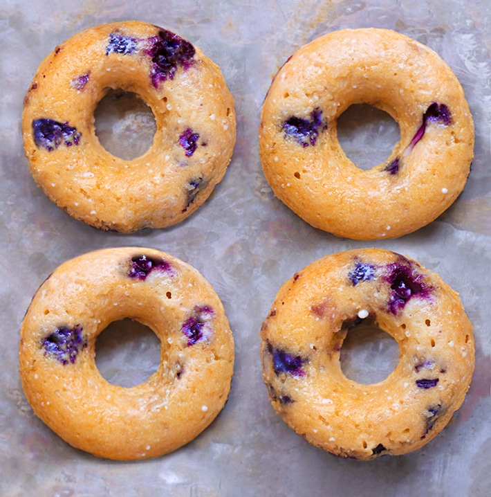 Vegan Blueberry Doughnut Recipe