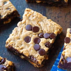Vegan Chocolate Chip Banana Bars Recipe