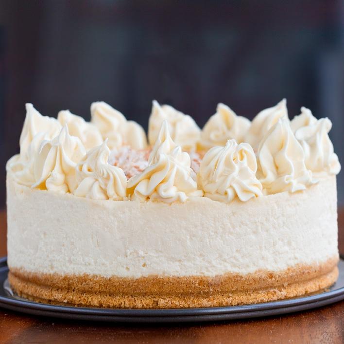 Vegan Dairy Free Cheesecake (Egg Free, Soy Free)