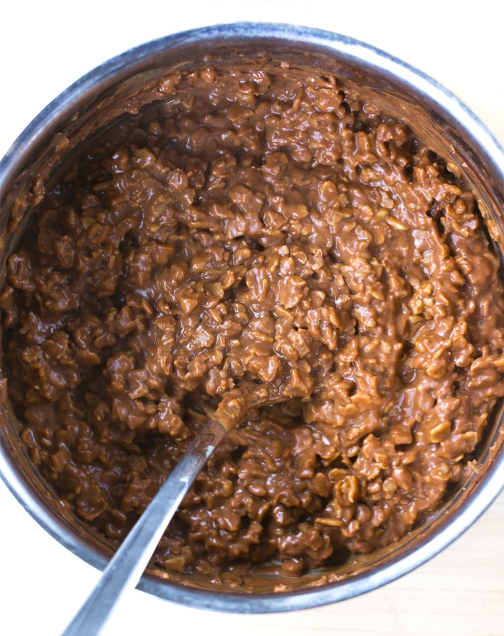 Peanut Butter Chocolate Oatmeal Recipe
