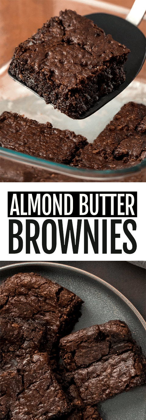 Almond Butter Brownie Recipe (Vegan,6 Ingredients)