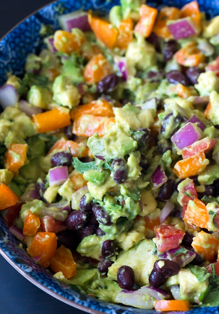 Avocado Black Bean Salad Recipe