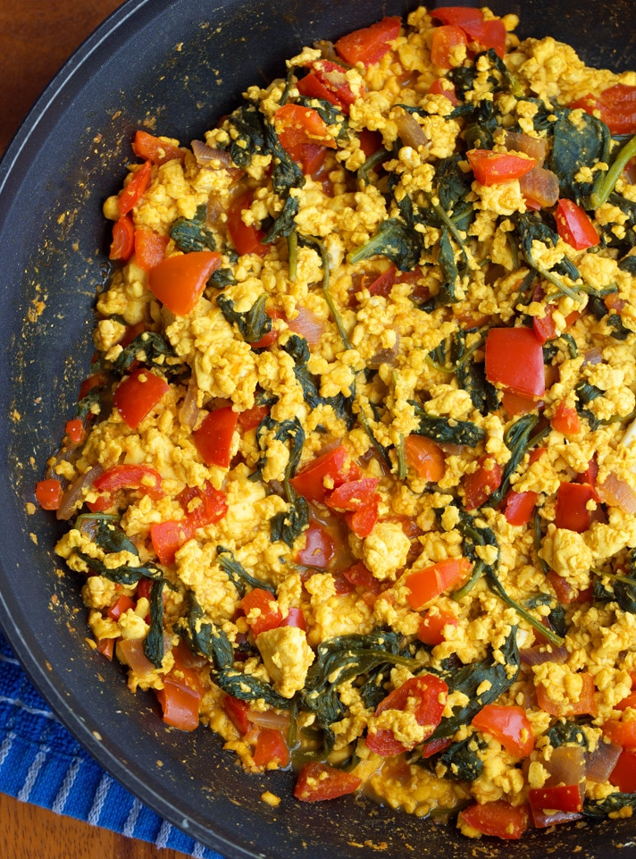 Easy Vegan Tofu Scramble Recipe