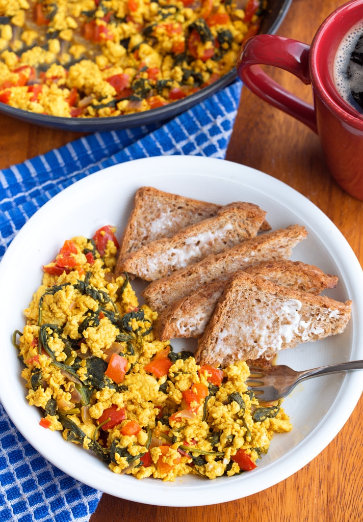 How To Make The Best Tofu Scramble
