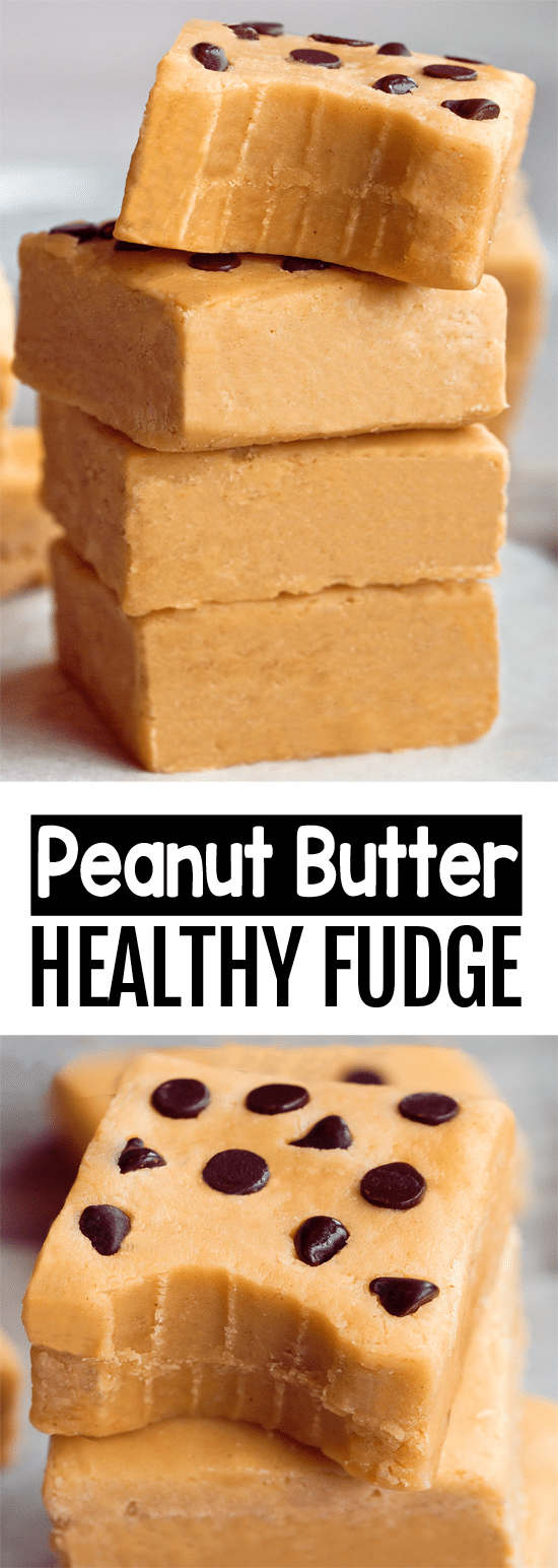 Secretly Healthy Peanut Butter Fudge Recipe