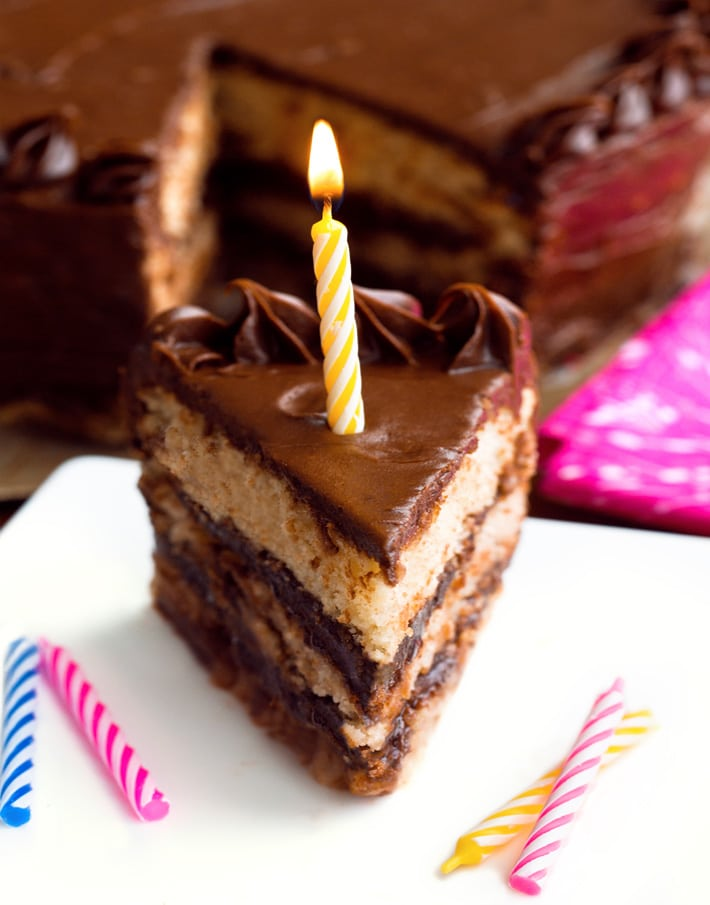 Sugar Free Birthday Cake For Diabetics Or Low Carb Diet