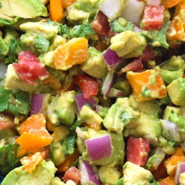 Summer Keto Avocado Salad Recipe