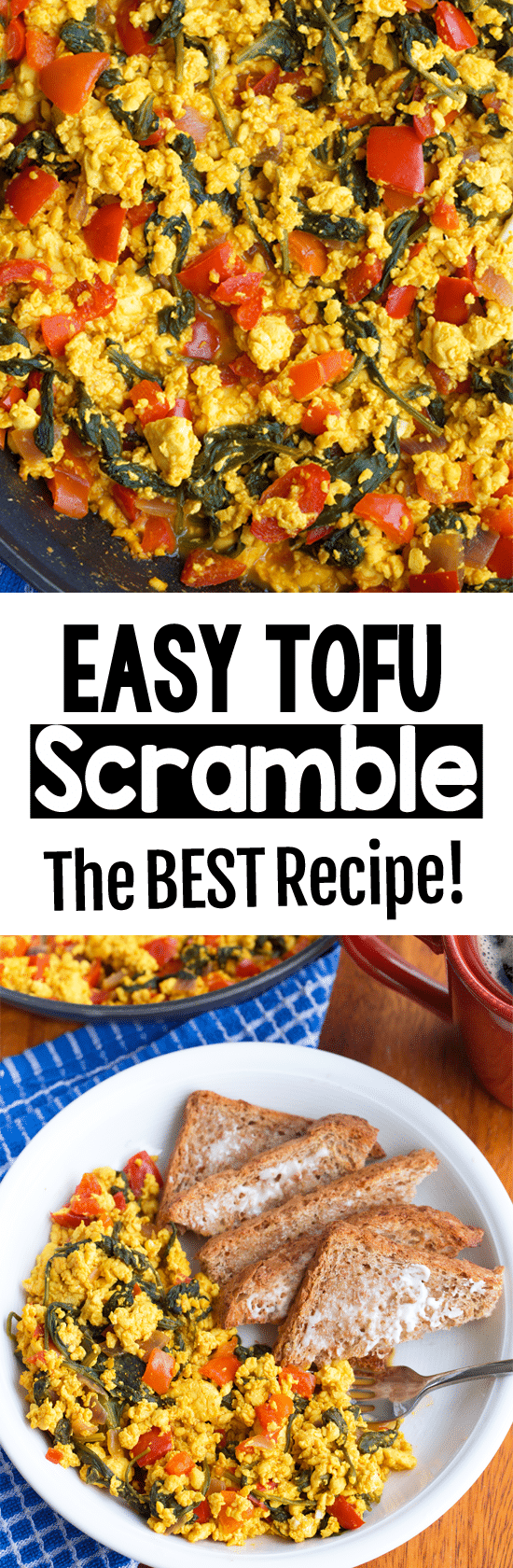 The Best Easy Vegan Breakfast Scrambled Tofu Recipe