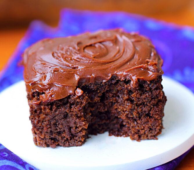 Easy Healthy Chocolate Cake Recipe