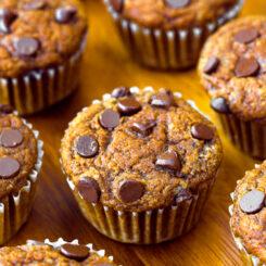 Homemade Healthy Pumpkin Muffins