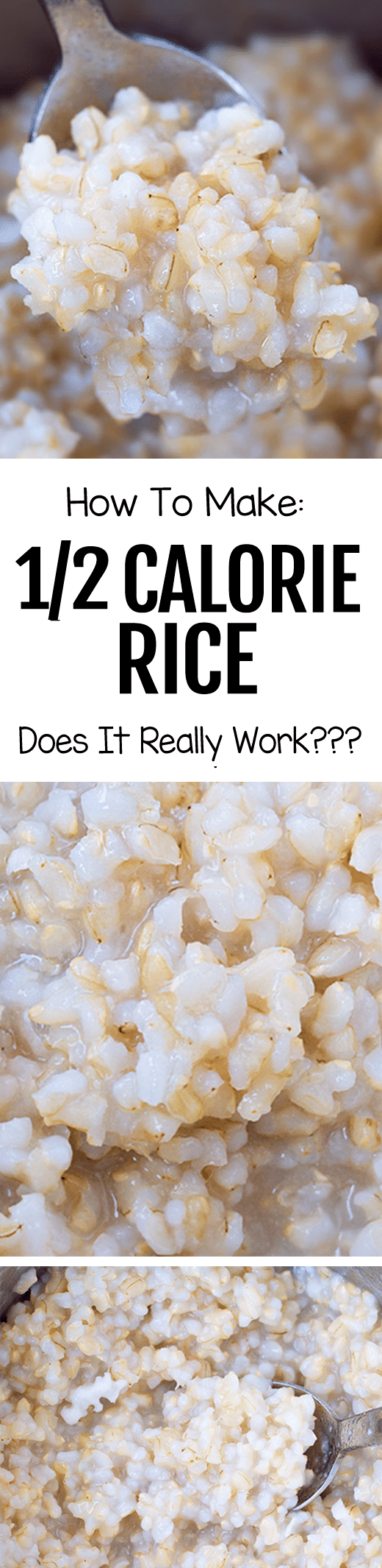 How To Make Half Calorie Rice The Easy Recipe