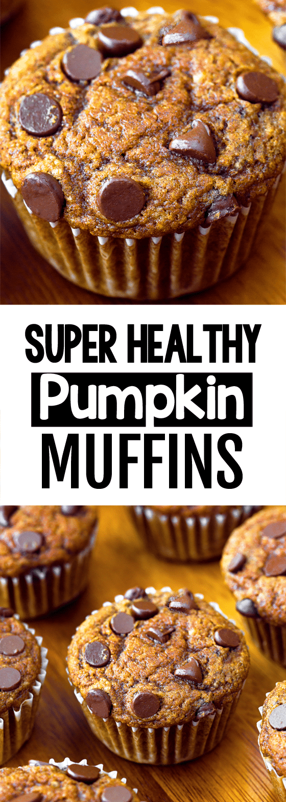 Secretly Healthy Vegan Pumpkin Muffins