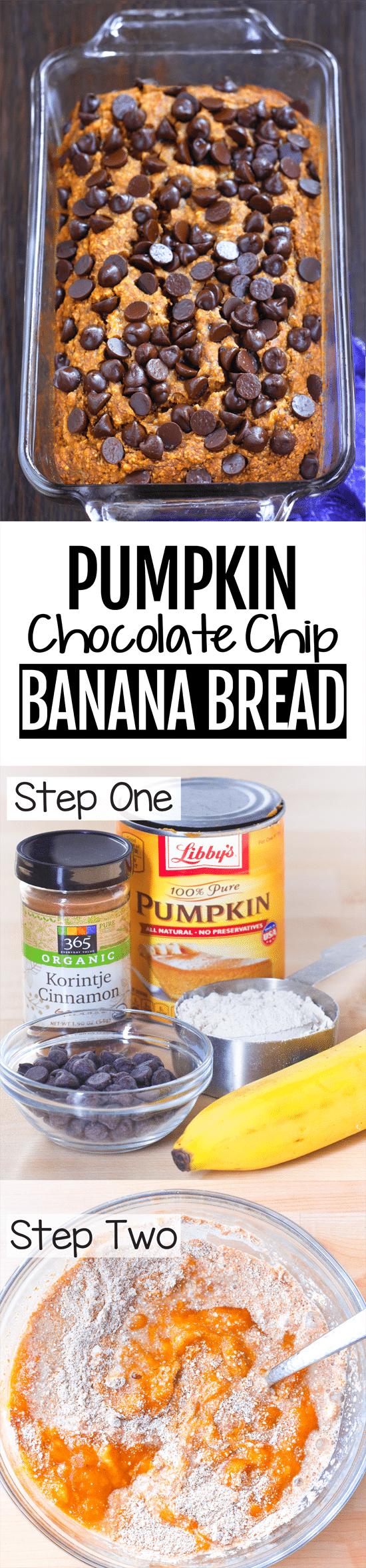 The Best Secretly Healthy Pumpkin Banana Bread Recipe