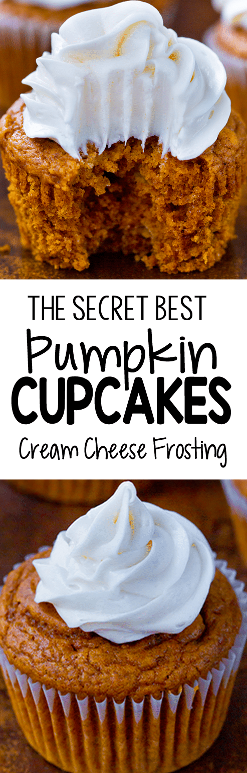 The Easy Secret Best Pumpkin Cupcake Recipe