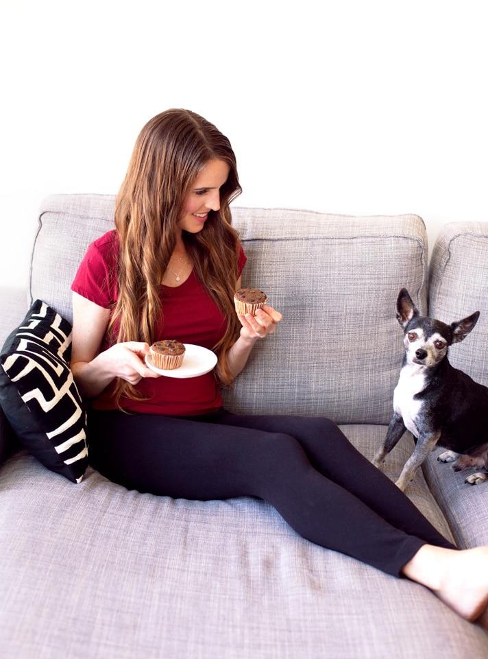 Menina Vegan Com Muffins