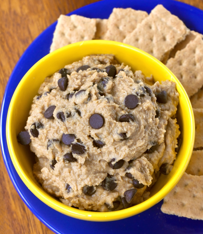 Chickpea Cookie Dough Dip Recipe