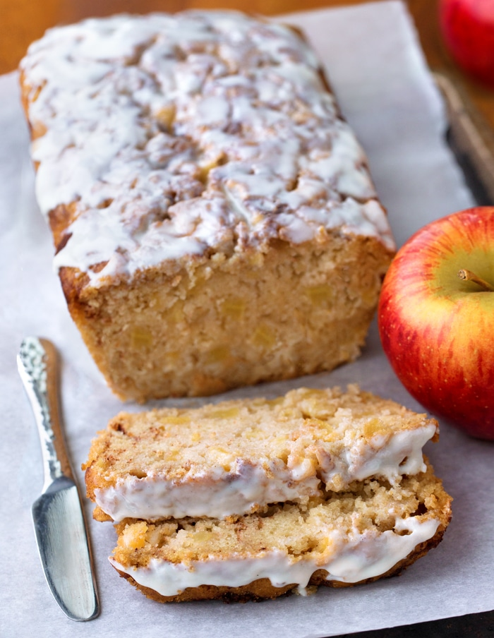 Moist Cinnamon Apple Bread Recipe