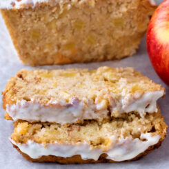 The Best Healthy Apple Cake Bread