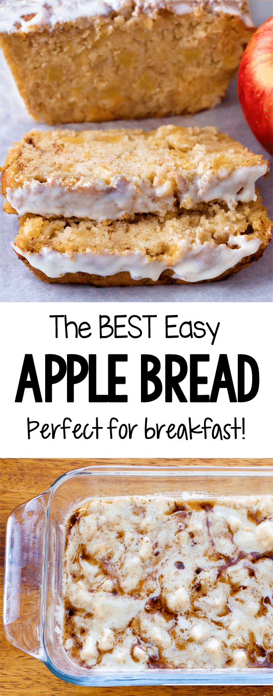 Cinnamon Apple Quick Bread Recipe (Vegan)