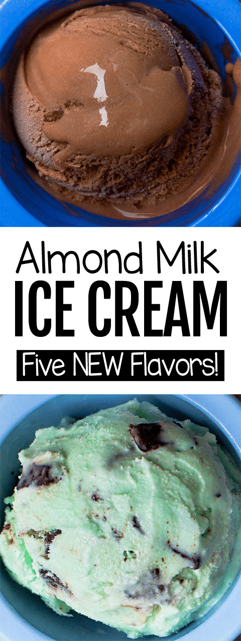 How To Make Almond Milk Ice Cream (Vegan, Dairy Free, Healthy)