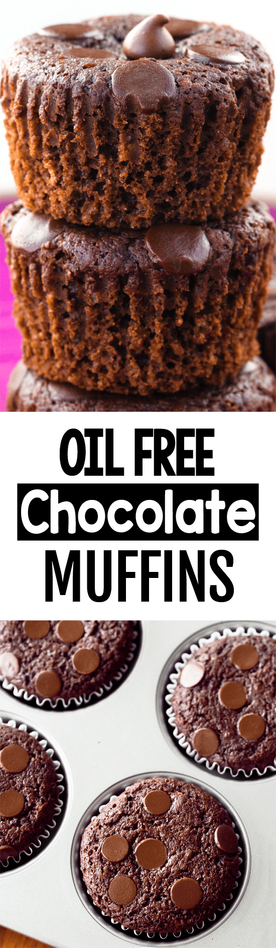 How To Make Healthy Low Fat Oil Free Chocolate Muffins