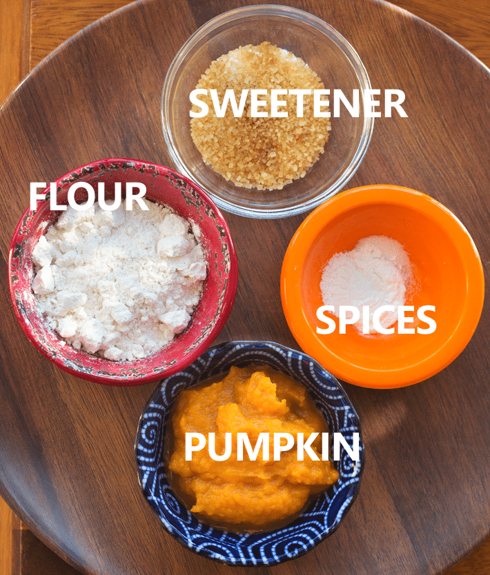 Pumpkin Cake Ingredients