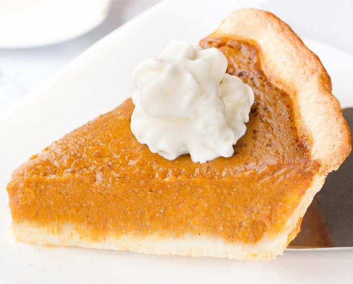 Homemade Pumpkin Pie Recipe From Scratch
