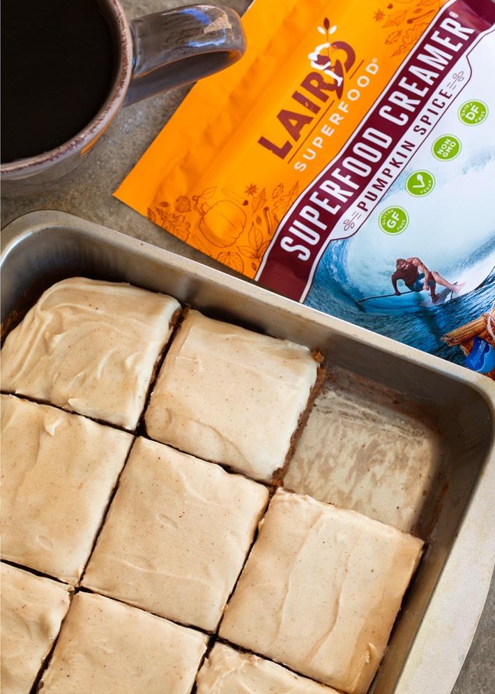 Laird Pumpkin Creamer Vegan Cake Recipe