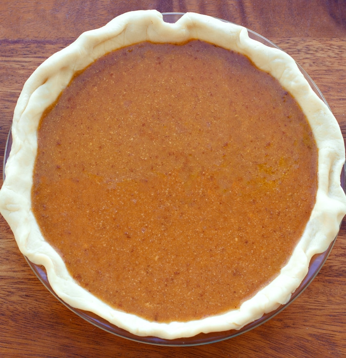 Whole Vegan Pumpkin Pie