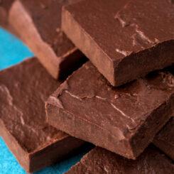 How to make healthy fudge