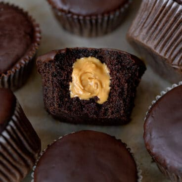 Vegan Chocolate Peanut Butter Cupcake Recipe