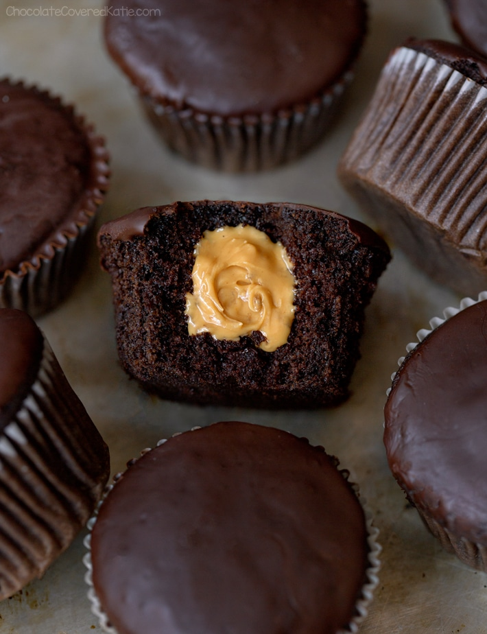 Vegan Chocolate Peanut Butter Cupcake Recipe