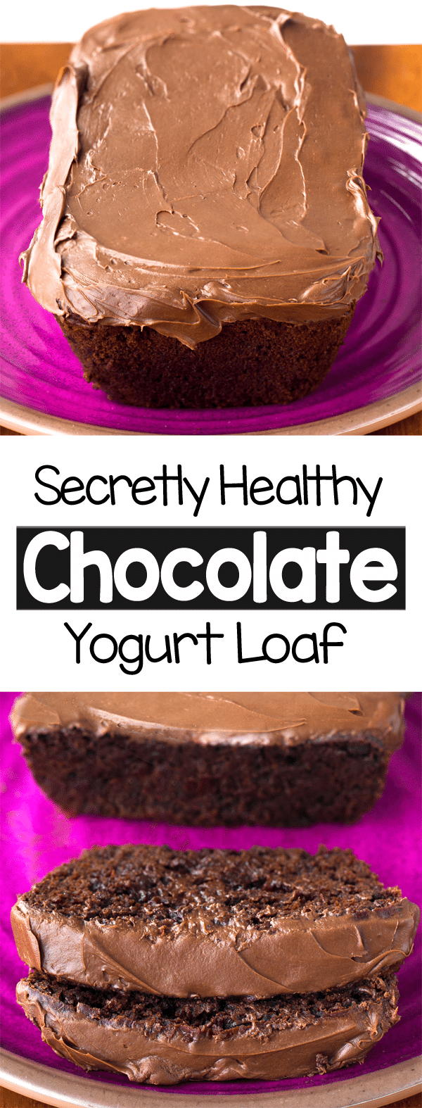 Chocolate yogurt healthy snack or dessert recipe