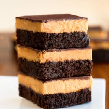 Easy Peanut Butter Brownies Recipe