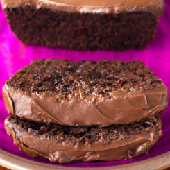 Healthy Vegan Chocolate Yogurt Loaf Cake Recipe