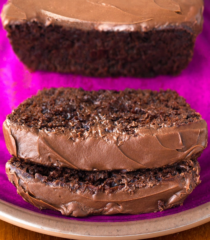 Healthy Vegan Chocolate Yogurt Loaf Cake Recipe