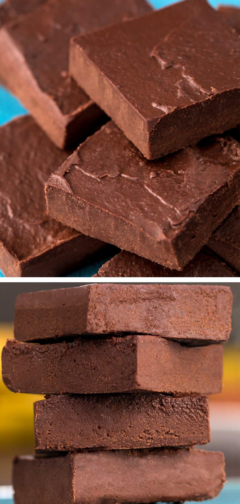 Chocolate Fudge Saudável - Katie Coberta de Chocolate 2