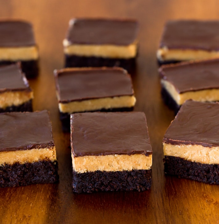 Vegan Peanut Butter Brownies