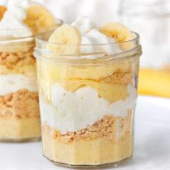 Healthy Banana Pudding Egg Free Recipe