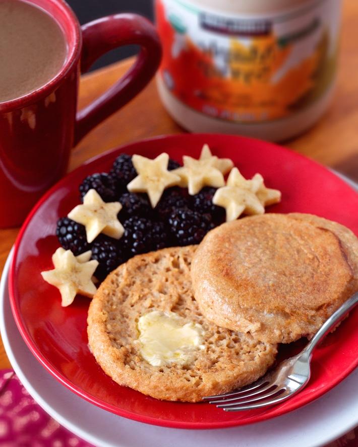 Healthy Breakfast English Muffin Recipe