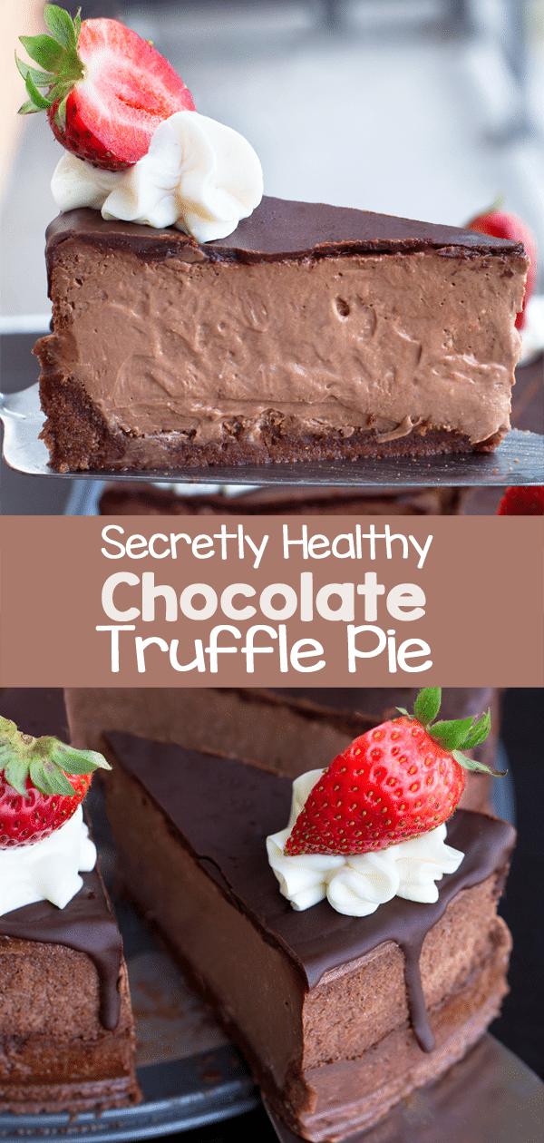 Secretly Healthy Chocolate Pie Recipe