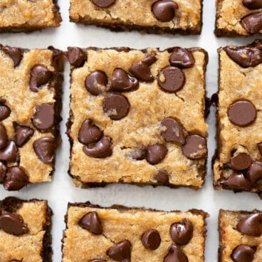 Chocolate Chip Chickpea Blondie Recipe
