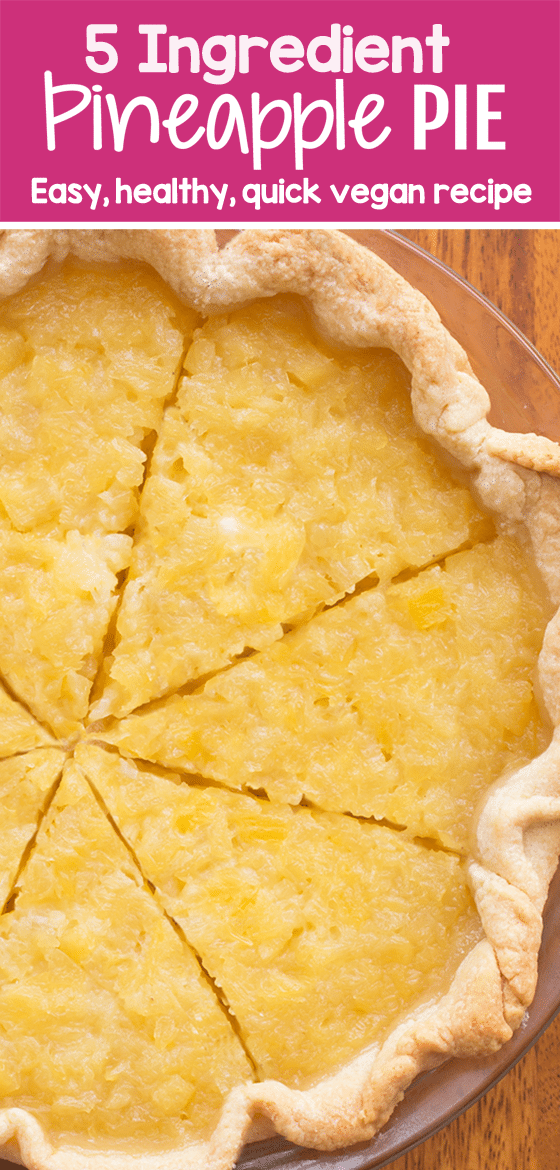 How To Make Pineapple Pie From Scratch