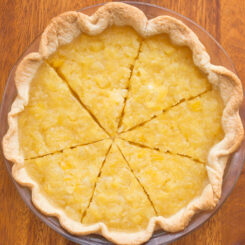 Pineapple Cream Cheese Pie Recipe