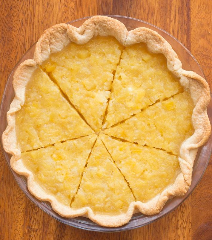 Pineapple Cream Cheese Pie Recipe