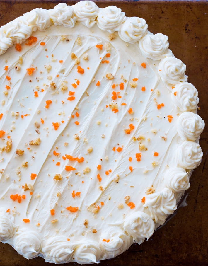 The Best Keto Carrot Cake Recipe