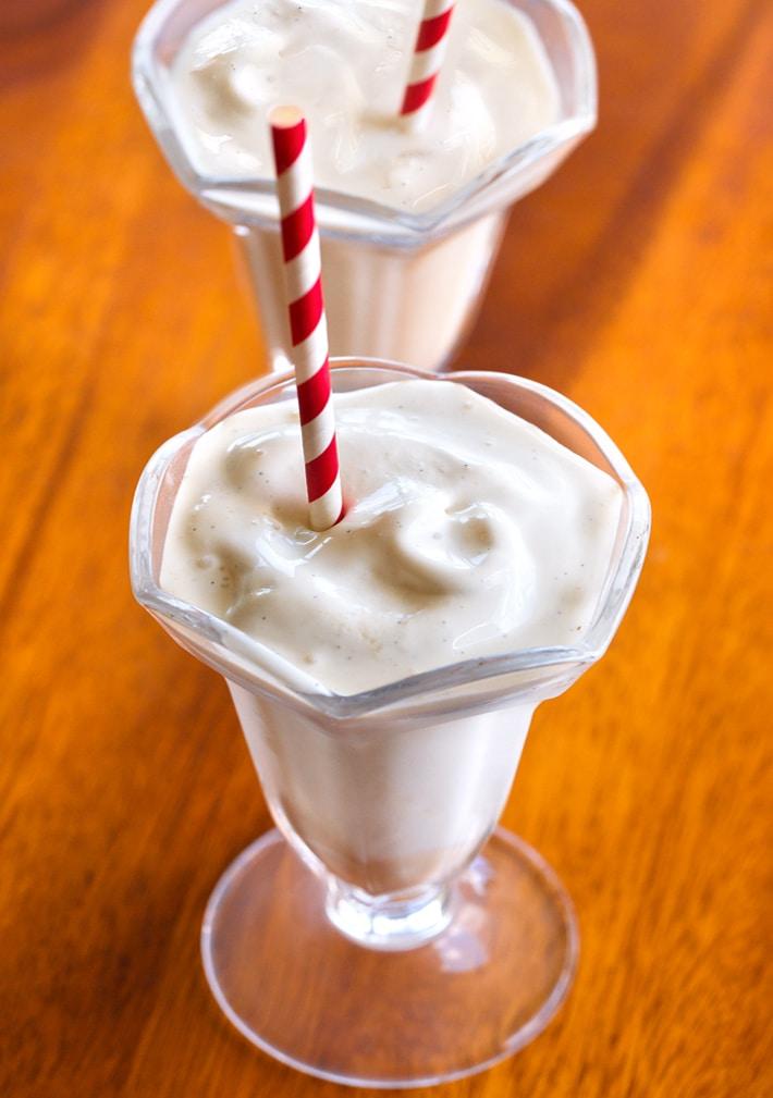 Receta de vainilla helada de Wendy