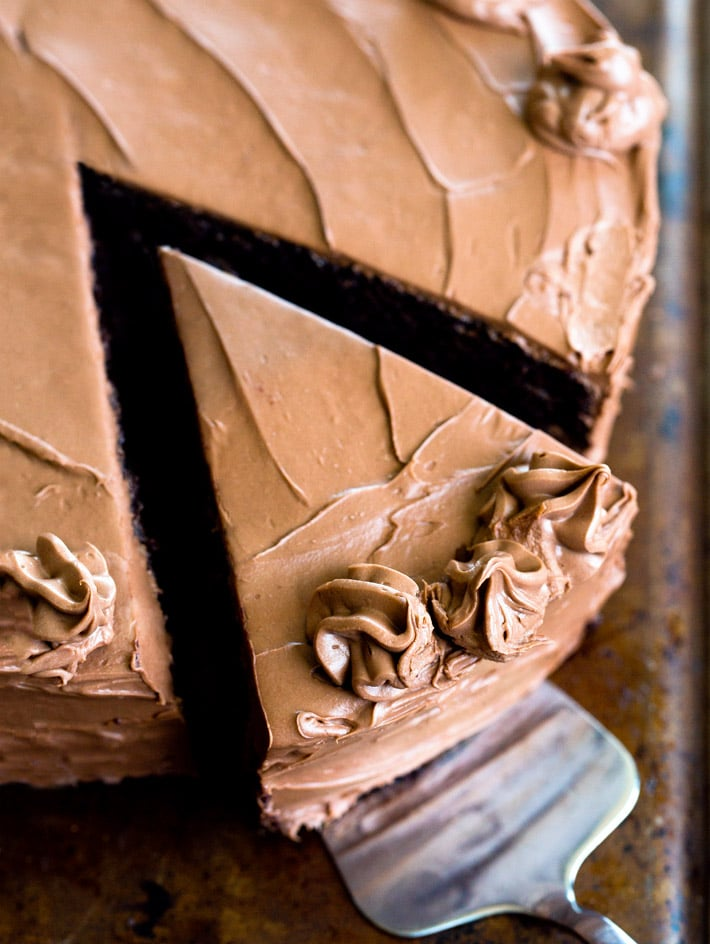 Easy Chocolate Vegan Cake Recipe