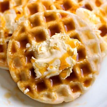 Homemade Vegan Waffles